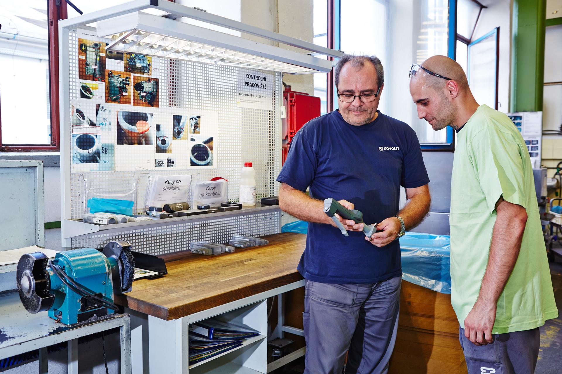 Vedoucí kvality provozu CNC obrábění