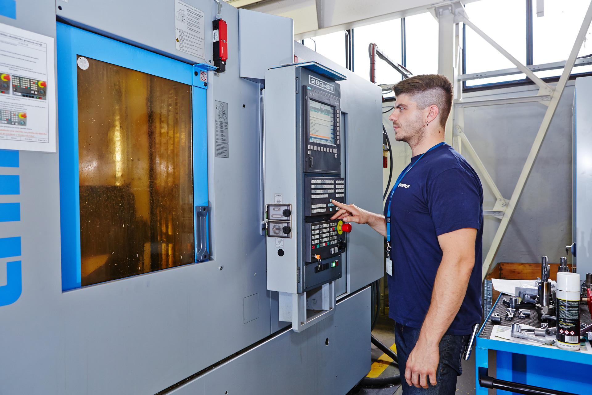 Technolog CNC obrábění
